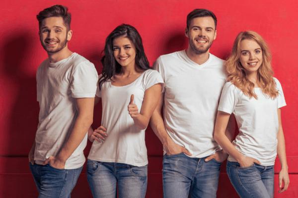 college t-shirts wholesale tirupur